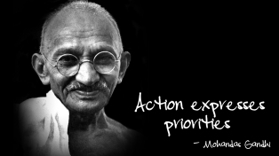 Action-expresses-priorities-sayquotable